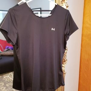 Under Armour Shirt with Keyhole Back